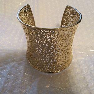 Jewelry - Gold Cleopatra style Bracelet Vintage